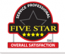 Five Star Wealth Advisor - for Client Satisfaction -Estate Planning